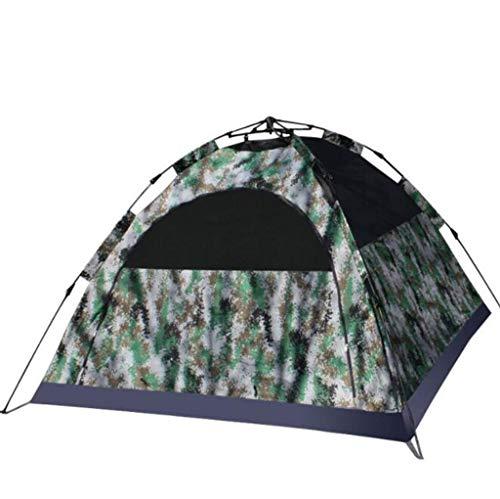 Lcxliga Camouflage Zelt Tarnzelt 3-4 Personen im Freien doppelte 420D Dicke Stoffzelt zu erhöhen