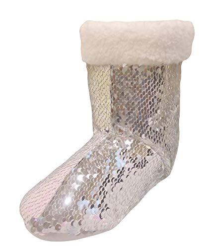 Hunter Price Mermaid Sequin Scales Girls Slipper Stiefel EU. 27 (Stiefel Regen Hunter Mädchen)