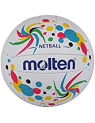 Molten Contender Netball Club and Match Level, Multi-Colour, size 5