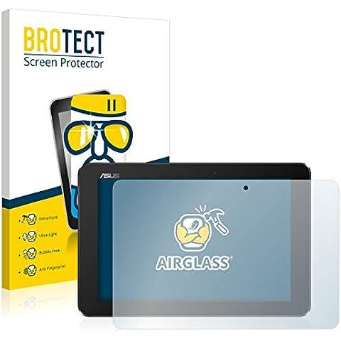 BROTECT AirGlass Protector Pantalla Cristal Flexible para Asus Transformer Book T100HA Protector Cristal Vidrio - Extra-Duro,