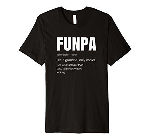 Funny FUNPA Fun Grandpa Novelty Shirt