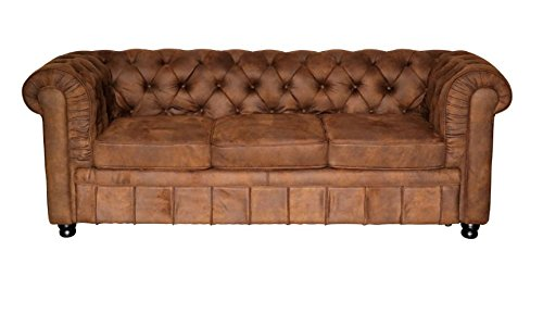 Chesterfield Sofa Oxford Chesterfield 3 Sitzer Vintage