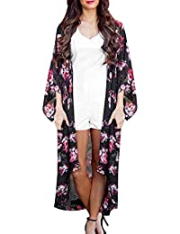 367a92ebd4d8 Cardigan Mujer Verano Elegantes Beach Largos Hawaiana Boho Negocios Moda  Chaqueta De Punto Anchas Casual Chaqueta