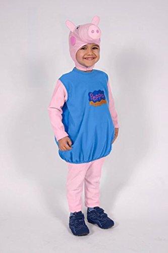 Giocoplast 99022 costume peppa pig george bambino 2/3 3/4 5/6