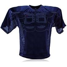 Full Force simple camiseta de entrenamiento de fútbol americano para adultos, todo el año, unisex, color Azul - azul, tamaño XL/2XL