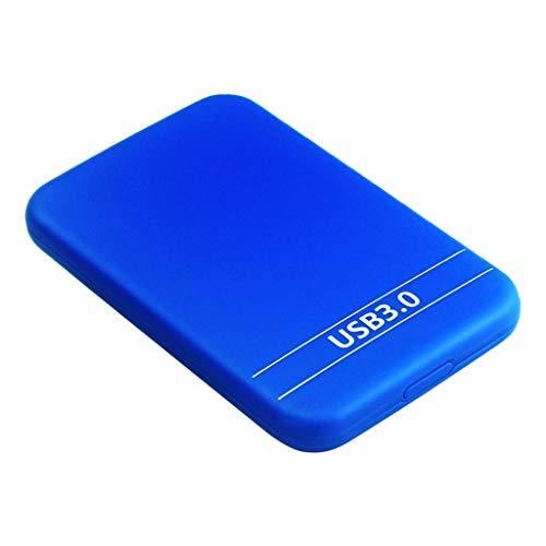 Gazechimp Externe Pocket Festplatte USB 3.0 Kompatibel Mit Windows PC, Mac, Xbox ONE Und Blue - 1T -