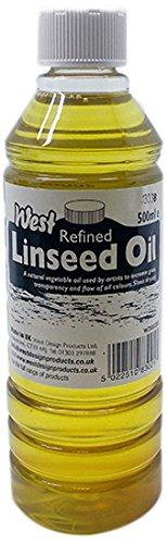 West Raffinierte Leinöl, transparent, 500ml