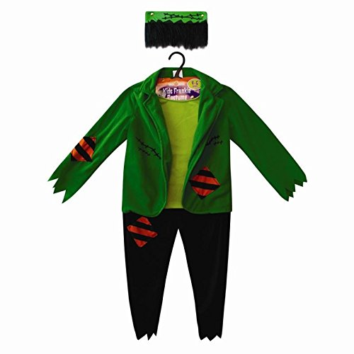 zizzi Halloween Kinder Kostüm Pirat Frankenstein Monster Vampir Party Kostüm, Polyester, - Frankenstein Kostüm Kinder