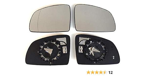 Spiegel Spiegelglas Links Rechts 2er Set Beheizt Ersatzglas Für Aussenspiegel Auto