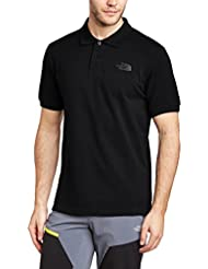 The North Face, M Polo Piquet, Polo, Uomo, Nero (Tnf Black), M