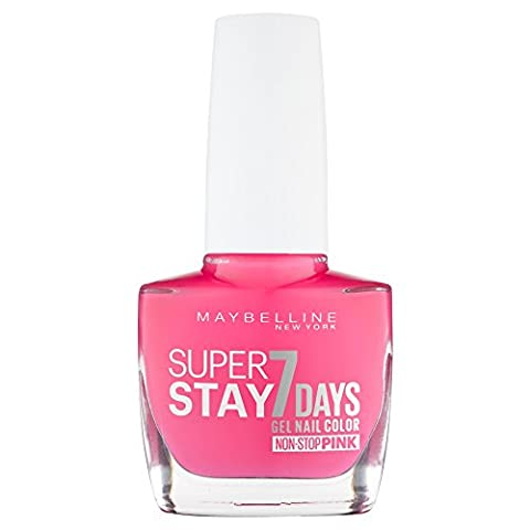 Maybelline SuperStay 7 Days Gel 160 Magenta Surge Nail Polish 10ml