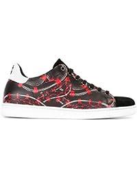 ae61028c05f66 MARCELO BURLON Sneakers Scarpe Uomo Modello CMIA0148174050171099 Isabel  Stan Nero con Stampa