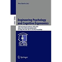 Engineering Psychology and Cognitive Ergonomics: 15th International Conference, Epce 2018, Held As Part of Hci International 2018, Las Vegas, Nv, USA, July 15-20, 2018, Proceedings