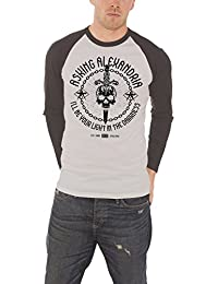 Asking Alexandria Sweat-Shirt Light In The Darkness nouveau Gris burnout