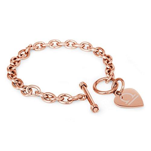 placcato-oro-rosa-acciaio-inossidabile-libra-simbolo-di-astrologia-heart-charm-braccialetto-solo