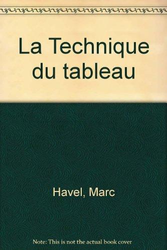 Download La Technique du tableau