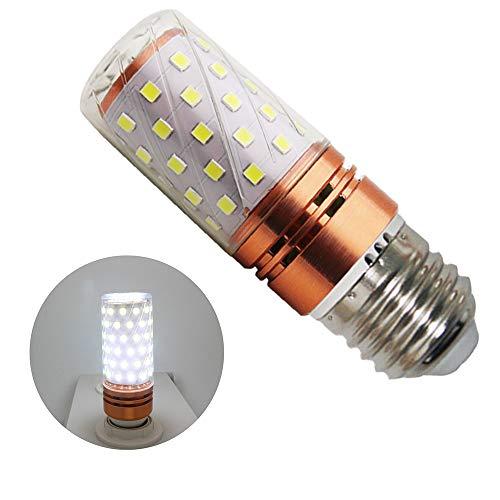 16W E27 LED Kaltweiß 6000k,16W Entspricht 160 W Glühlampe, 1600 Lumen LED E27 Mais Birne Beleuchtung LED Leuchtmittel Maiskolben 360° Abstrahlwinkel (1er-Pack) 160 Lumen Led