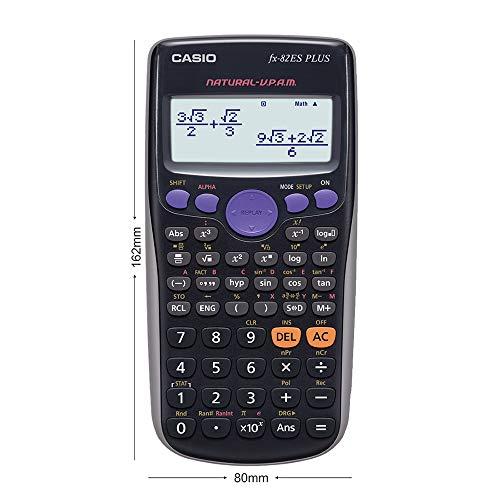 Casio FX-82ES Plus Display Scientific Calculations Calculator (Black)