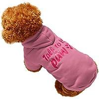 MCYs Winter Warm Hund Kostüme Jacke Haustier Hunde Bekleidung & Zubehör Shirts Sweater Hoodies B