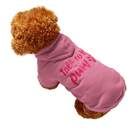 (Dragon868 Hund Haustier-Kleidung Hoodie Warm Sweatshirts Welpencoat Coat Apparel)