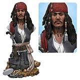 Pirate des Caraibes Jack Sparrow 16cm Buste