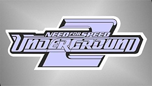Preisvergleich Produktbild Aufkleber - Sticker Need for Speed PSP XBOX Sticker