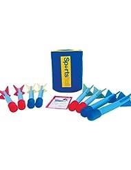 Childrens Sportshall Athletic Activity Mini Bullnose Foam Javelins Infants Pack