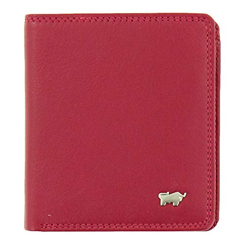 BRAUN BÜFFEL Geldbörse Golf 2.0 Carré - aus echtem Leder (rot)