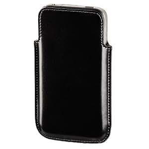 Hama 104596 Etui en cuir pour iPhone 4 Noir