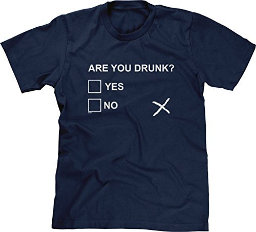 Alida Liuwer Blittzen Mens T-shirt Are You Drunk?