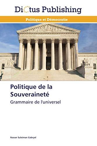 Politique de la souveraineté par Nasser Suleiman Gabryel