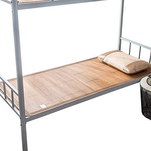 DUAN GUO FENG DGF Sommer Student Matte Schlafsaal Einzelbett Bambus Matte Doppelfalz Schlafzimmer Mat (größe : 1m×1.9m)