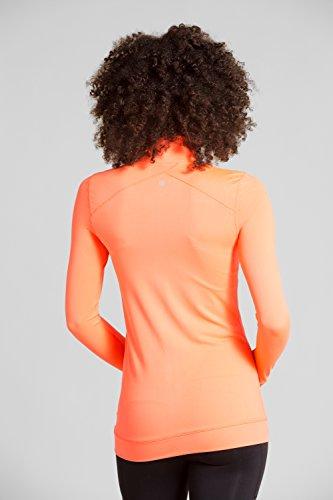 Mountain Warehouse Airbrush Sweat Femme Corail Vibrant