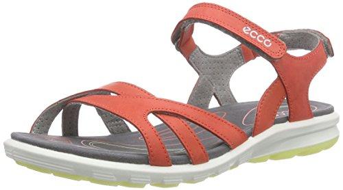 Ecco  ECCO CRUISE, Sandales de sport femme Rouge - Rot (CORAL BLUSH/CORAL BLUSH/WILD DOVE59509)