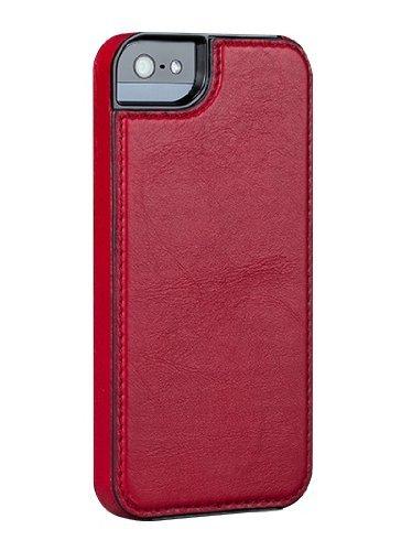 Sena Lugano Schutzhülle für Apple iPhone 5/5S, Rot - Sena Slim Case