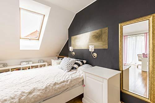 Demarkt 638020301 applique da parete moderna colore oro lucido