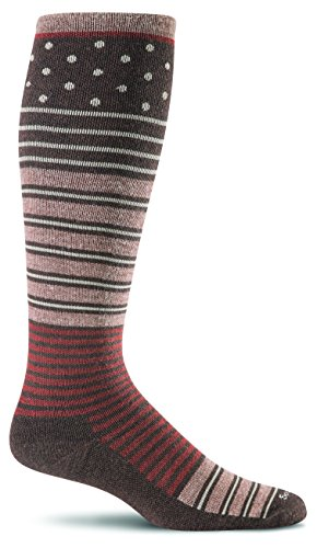 Sockwell Women's Twister Graduated Compression Socks-Ideal for-Travel-Sports-Nurses-Pregnancy-Reduces Swelling