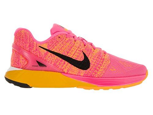 Nike Donna Wmns Lunarglide 7 Scarpe Running Rosa (Pink Blast / Black-Lsr Orng-Wht)