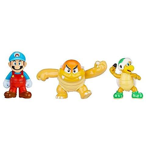 Nintendo Figur Micro 3er Pack W2-Ice Mario,Boom Bo