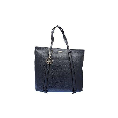Armani Jeans Donna Borsa shopping 922340 7A813 31835 WOMENS SHOPPING BAG Blu Tienda De Descuento Despacho De Italia La Venta En Línea Tiendas De Venta En Línea Mejores En Línea QCCwD