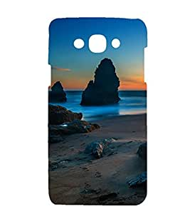 printtech Nature View Beach Back Case Cover for Samsung Galaxy J5 / Samsung Galaxy J5 J500F (2015 EDITION )