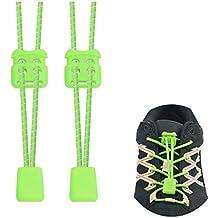 88367d24dd84 Riemot Lacci per Scarpe Elastici per Bambini e Adulti, Stringhe Elastiche  per Scarpe, No