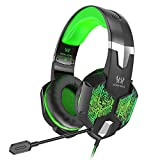 VersionTECH. Gaming Headset for New Xbox One/PS4 Controller, PC, Wired Surround Sound Gaming