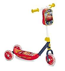 Idea Regalo - Mondo Toys - My First Scooter CARS 3 - Monopattino Baby bambino/bambina - 3 ruote - borsetta porta oggetti inclusa - 18005