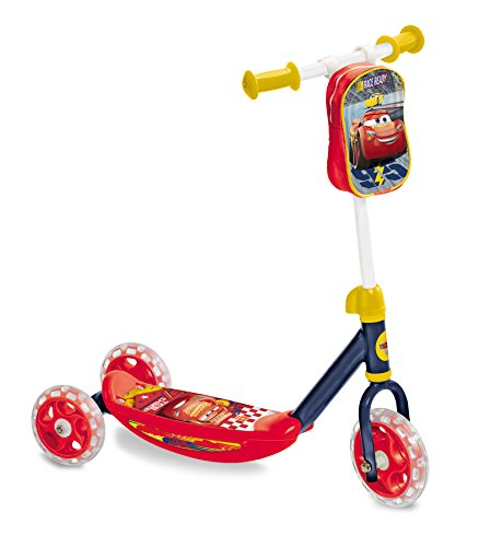 Disney 0701026 Kinderfahrzeuge Cars My First Scooter, rot
