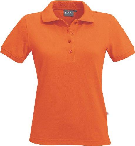 "HAKRO Damen Polo-Shirt ""Classic"" - 110 - Orange"