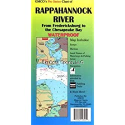 GMCO 10305PS Rappahannock River Map