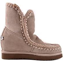 MOU Eskimo Inner Wedge Short Corda, bota para mujer Mou