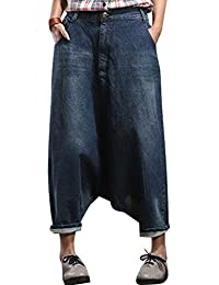 Youlee Femmes Big Crotch Sarouel Pantalon