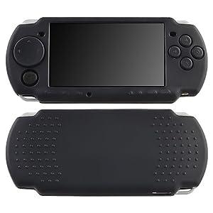 schwarz Silikon Gel weich Gel Case H�lle Tasche Skin f�r Sony PSP 3000